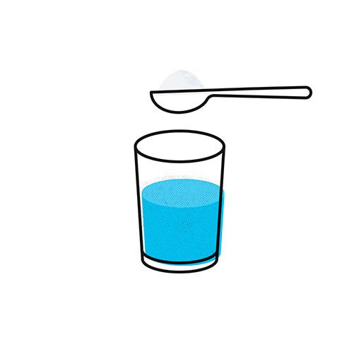 Produce tu propio cloro: Paso 1
