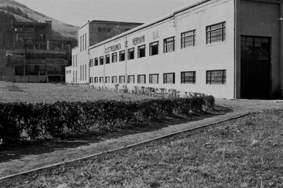 Electroquímica de Hernani plant, 1948
