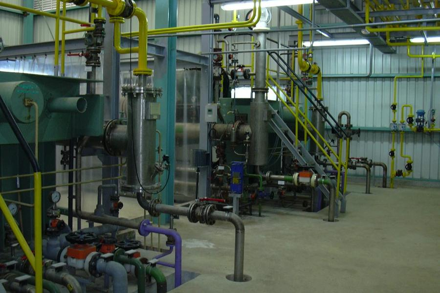 Sala de Electrolizadores de Membrana, 2002